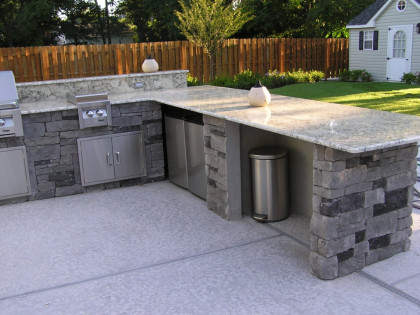 Outdoor Kitchen BBQ\'s | Newark, NJ | Josantos Construction